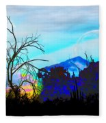 I Am And You Are The Moonset  Acknowledging And Accepting Our Past Mistakes- Autumn 1 Fleece Blanket