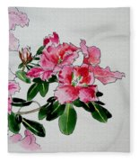 Delicate Pink Fleece Blanket