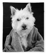 I Hate Mondays Fleece Blanket