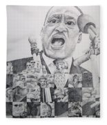 I Have A Dream Martin Luther King Fleece Blanket