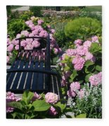 I Never Promised You A Rose Garden Fleece Blanket