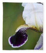 I Spy An Iris Fleece Blanket
