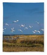 Ibis Flight Fleece Blanket
