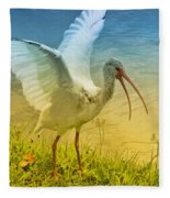 Ibis Talking Fleece Blanket