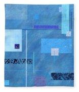 iBlue Fleece Blanket