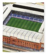 Ibrox Stadium Fleece Blanket