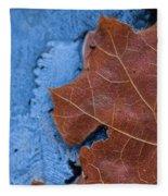 Ice And Life Fleece Blanket