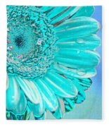 Ice Blue Fleece Blanket