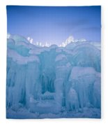 Ice Castle Fleece Blanket