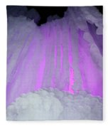 Ice Cliff Fleece Blanket