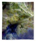 Ice Clouds Fleece Blanket