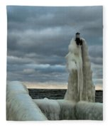 Ice Coat Fleece Blanket