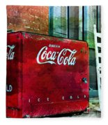 Ice Cold Coca Cola Fleece Blanket