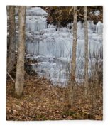 Ice Falls Fleece Blanket