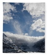Ice Field Parkway Fleece Blanket