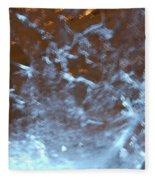 Ice Fire By Jammer Fleece Blanket