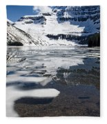 Ice In The Water Fleece Blanket