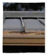 Ice Roof Fleece Blanket