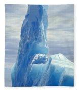 Iceberg Antarctica Fleece Blanket