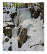 Iced Rocks Fleece Blanket