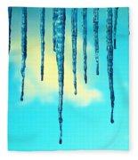 Iced Sky Fleece Blanket