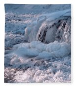 Iced Water Fleece Blanket