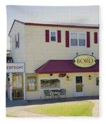 Icehouse Waterfront Restaurant 1 Fleece Blanket
