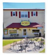 Icehouse Waterfront Restaurant 2 Fleece Blanket