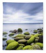 Iceland Tranquility 3 Fleece Blanket