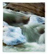 Icicle Creek Fleece Blanket