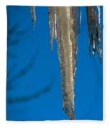 Icicles 1 Fleece Blanket