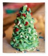 Icing Christmas Tree Fleece Blanket