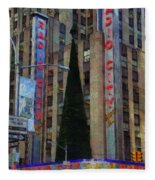 Iconic Radio City Fleece Blanket
