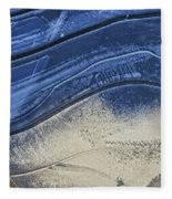 Icy Blue Fleece Blanket