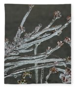 Icy Branch-7474 Fleece Blanket