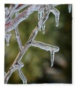 Icy Branch-7506 Fleece Blanket