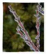 Icy Branch-7520 Fleece Blanket