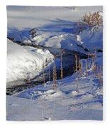 Icy Flow Fleece Blanket