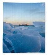 Icy Passage Fleece Blanket