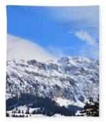 Icy Profile Fleece Blanket