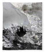 Icy Water Fleece Blanket