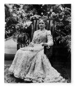Ida Mckinley (1847-1907) Fleece Blanket