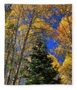 Idaho Autumn Colours Fleece Blanket