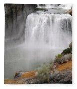 Idaho Waterfall Fleece Blanket