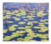 Idyllic Pond Fleece Blanket