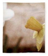 If These Flowers Could Speak  Fleece Blanket