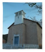 Iglesia De Jaun Batista Lincoln City New Mexico Fleece Blanket