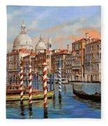 Il Canal Grande Fleece Blanket
