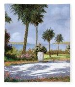 Il Giardino Delle Palme Fleece Blanket
