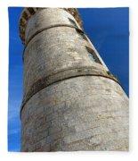 Ile De Re Lighthouse Fleece Blanket